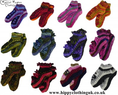 Hippy Wool Socks