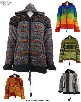 Wool Hippy Jackets