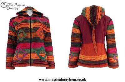 hippy pixie hooded jacket