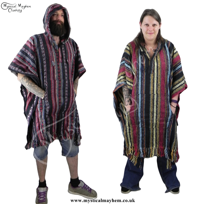male-and-female-cotton-poncho-hippy-poncho