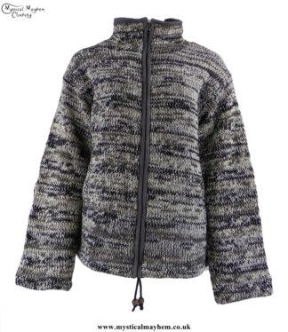 nepalese-tie-dye-wool-high-nech-jacket