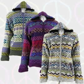 Patterned Wool Jackets