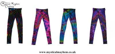 Tie Dye Hippy Leggings