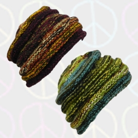 Wool Hippy Beanie Hats