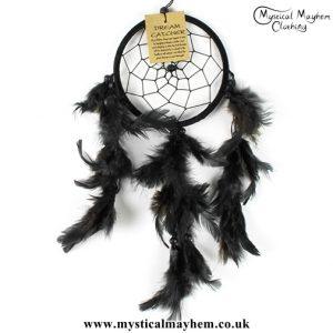 small-black-nylon-round-dreamcatcher