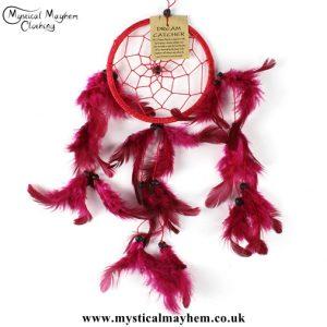 small-red-nylon-round-dreamcatcher