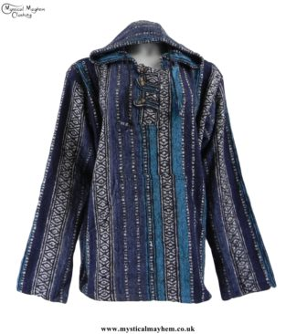 thick-weave-brush-cotton-hippy-pullover-jacket-blue-mix