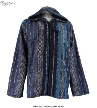 thick-weave-pixie-hooded-hippy-jacket-blue-mix