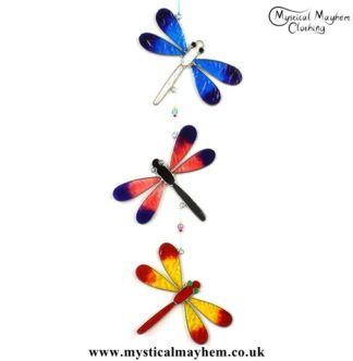 colourful-handmade-string-of-dragonflies-suncatcher