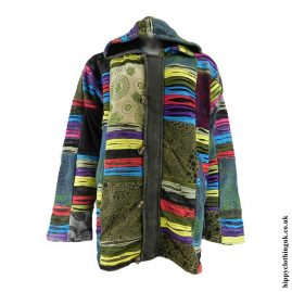 Multicoloured-Cotton-&-Velvet-Jacket