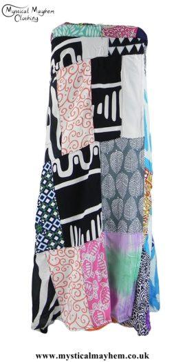 multicoloured-patchwork-hippy-festival-wrap-skirt