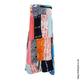 Multicoloured-Patchwork-Skirt