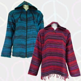 Acrylic Wool Jackets and Tops