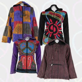 Cotton Jackets and Pullover Style Tops
