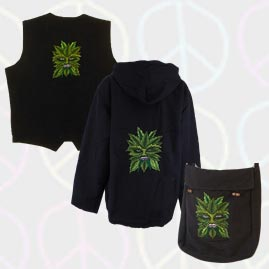 Green Man Hippy Products