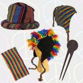 Hippy Hats, Headbands and Hair Forks