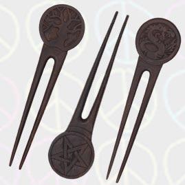 Hippy Style Hair Forks