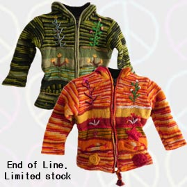 Kids Pixie Wool Jackets
