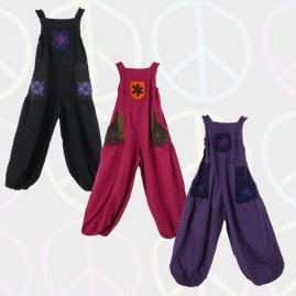 Flower Dungarees