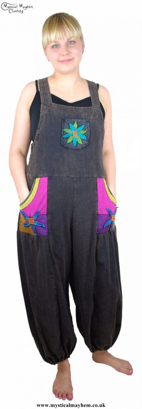 Hippy Dungarees Person Example