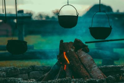 Hippy Camping