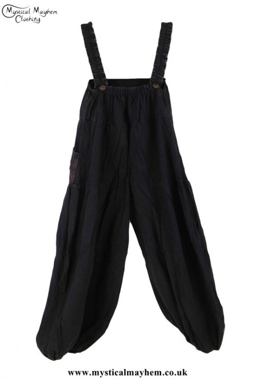 Hippy Dungarees - Back Example