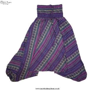 Funky Pattern Hippy Style Harem Ali Baba Trousers
