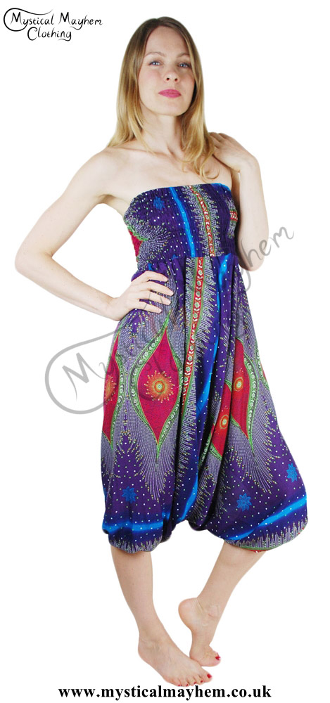 Hippy-Style-Harem-Genie-Trousers-also-wear-as-play-suit