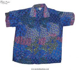 Funky-Patterned-Thai-Short-Sleeve-Shirts---Light-Blue