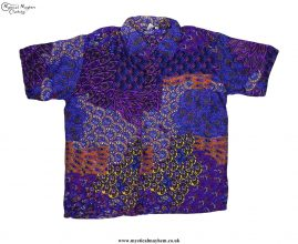 Funky-Patterned-Thai-Short-Sleeve-Shirts---Purple