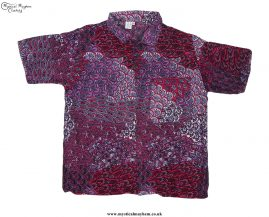 Funky-Patterned-Thai-Short-Sleeve-Shirts---Red-&-White