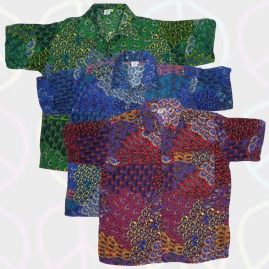 Funky Pattern Short Sleeve Shirts