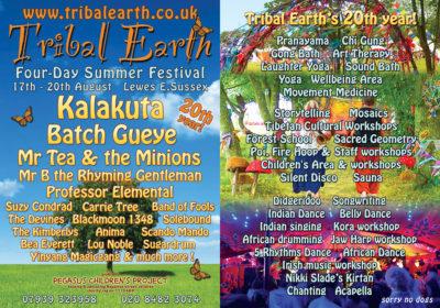 Tribal Earth Flyer