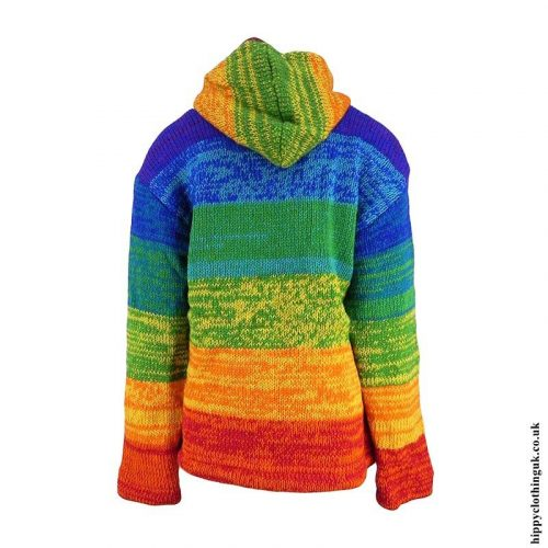 Electric-Rainbow-Hooded-Hippy-Wool-Jacket-Back