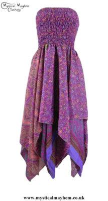 Hippy Dress - Silk