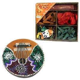 Gifts, Incense, Oils, Musical Instruments