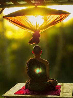 Monk-Meditating