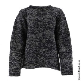Black-&-Grey-Tie-Dye-Hippy-Wool-Jumper