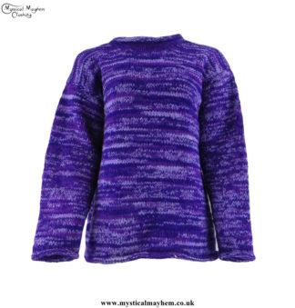 Purple-Woollen-Jumper