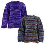 Hippy Tie Dye Wool Jumpers