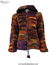 Dark-Mix-Nepalese-Festival-Pixie-Hooded-Wool-Jacket-