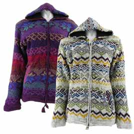 Patterned Wool Jackets