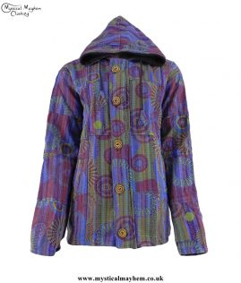 Purple-Fleece-Lined-Gheri-Cotton-Hooded-Festival-Jacket-with-Front-Zip