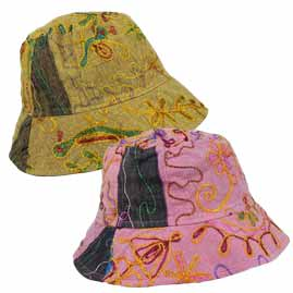 Floppy Embroidery Hippy Hats