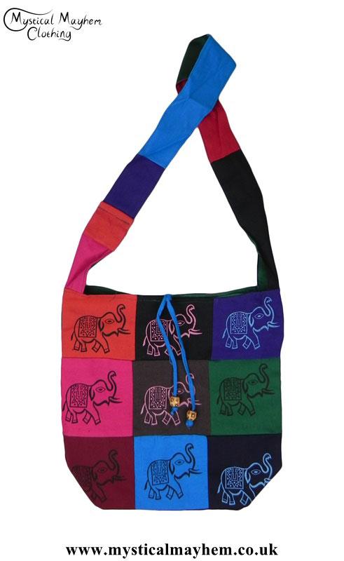 Multicoloured-Patchwork-Elephant-Bag