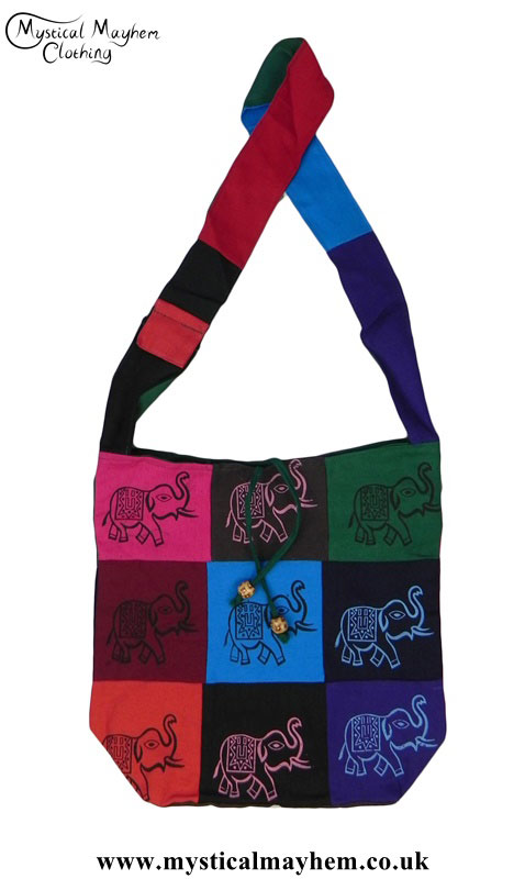 Elephant-Patchwork-Bags
