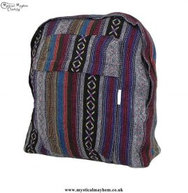 Multicoloured-Thai-Gheri-Cotton-Hippy-Festival-Backpack-Rucksack