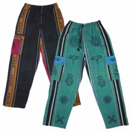 Printed Pattern Nepalese Trousers
