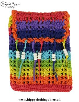 Rainbow-Crochet-Hippy-Passport-Bag-Orange-Border