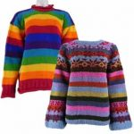 Hippy Striped Wool Jumpers